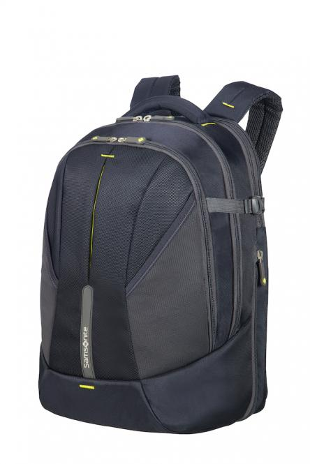 "Laptop Rucksack L Erw 16"" Midnight Blue/Yellow"