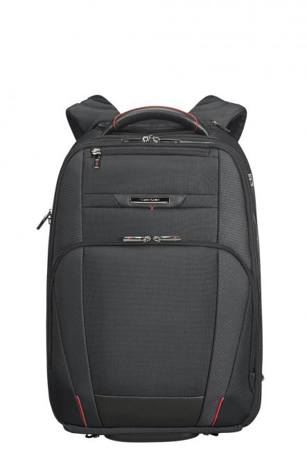 "Laptoprucksack Trolley 2R mit Laptopfach 17.3"" Black"