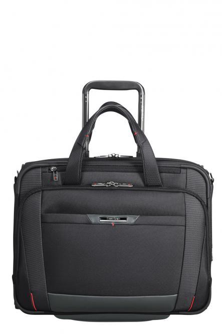 """Laptoptasche Trolley 2R 15.6"""", erweiterbar Black"""