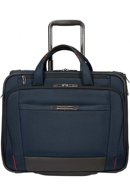 "Rolling Tote mit Laptopfach 17,3"" Oxford Blue"