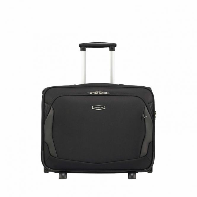 """Rolling Tote 17,3"""" Black"""