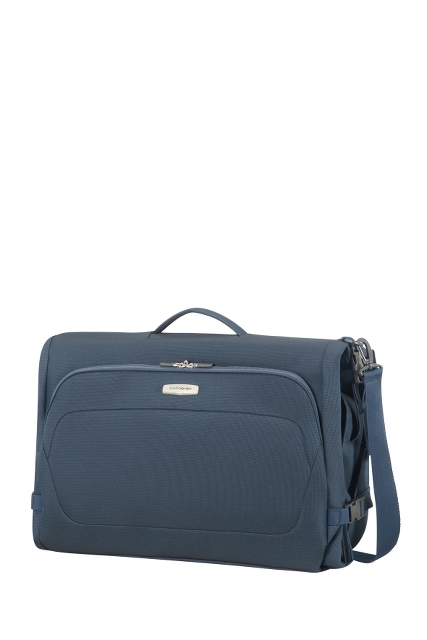 Garment Bag Tri-Fold Blue