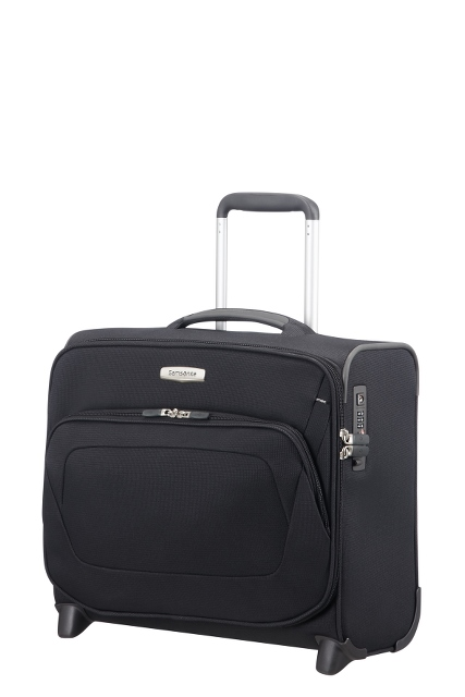 "Rolling Tote mit Tablet- und Laptopfach 16"" Black"