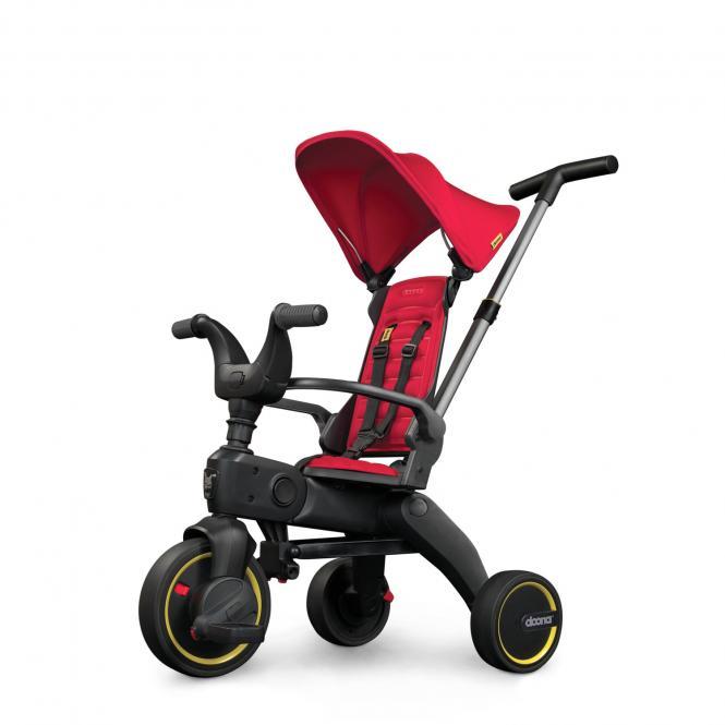 S1 Faltbares Kinder-Dreirad Flame Red