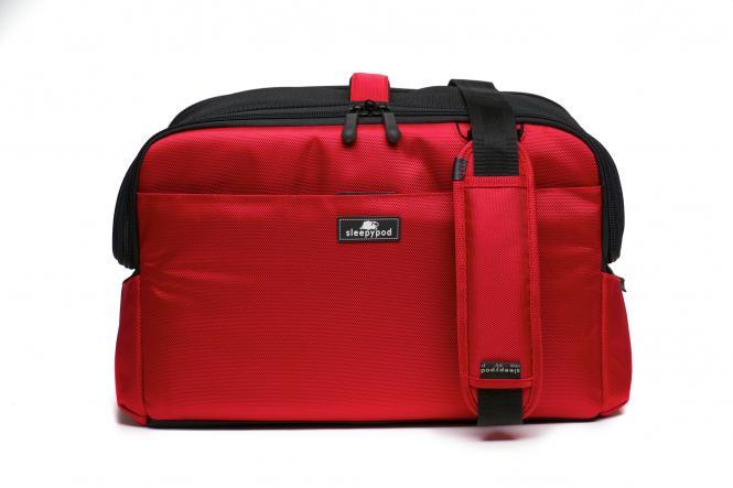 Tier-Transporttasche Kabine Strawberry Red