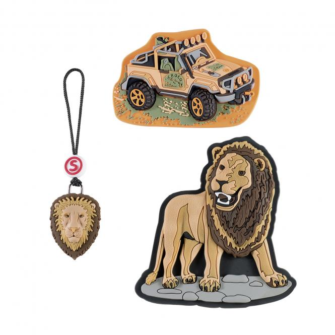 *Schleich Edition* 3-teiliges Set Wild Life Lion