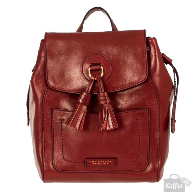 Rucksack red currant/gold