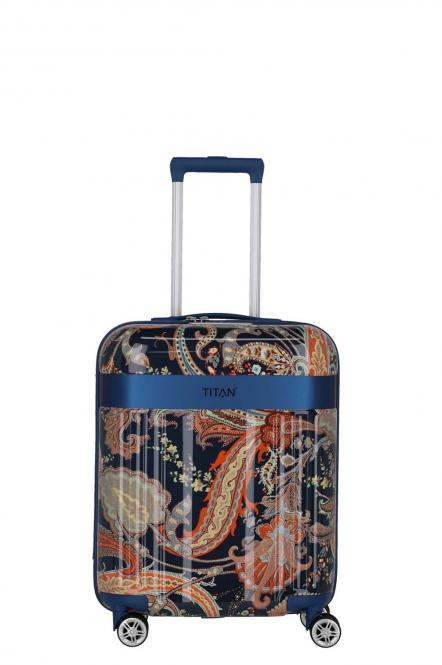 Handgepäck-Trolley S *Limited Edition* Paisley blue