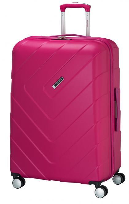 Trolley L 4R 76cm pink