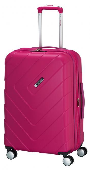 Trolley M 4R 67cm, erweiterbar pink
