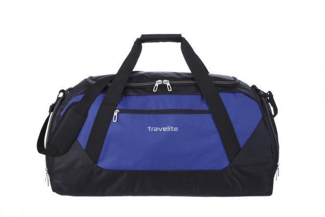 Freizeittasche XL blau-schwarz