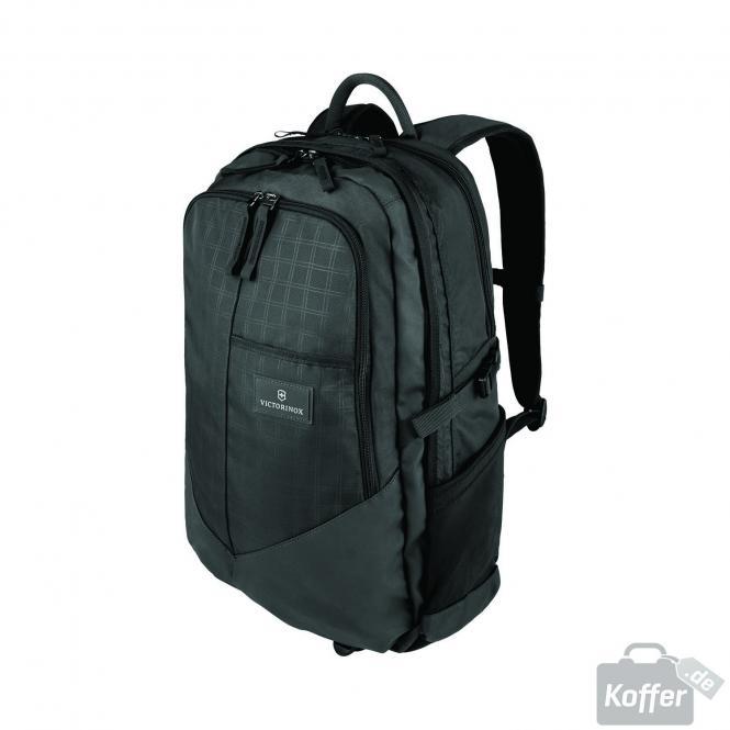 "Deluxe Laptop Backpack 17"" Black"
