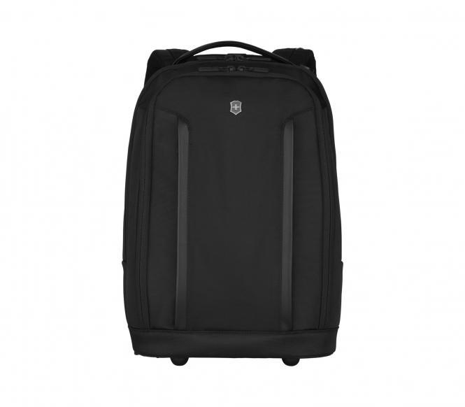 Wheeled Laptop Backpack Schwarz