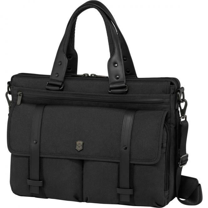"""Brunswick Aktentasche mit Laptopfach 15.6"""" schwarz"""