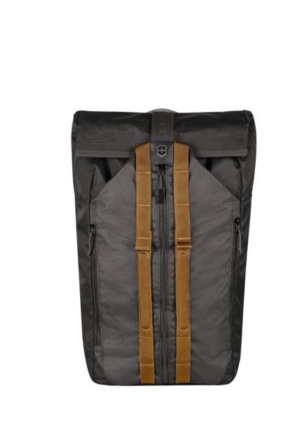 """Deluxe Duffel Laptop Backpack 15.4"""" Grau"""