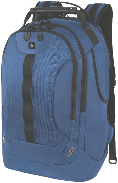 Trooper Backpack mit 16 Zoll Laptopfach Blau