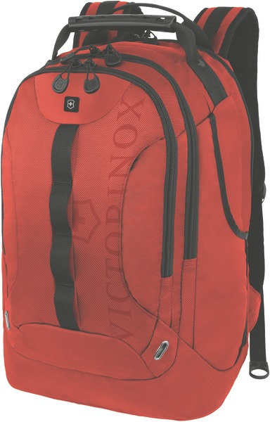 Trooper Backpack mit 16 Zoll Laptopfach Rot