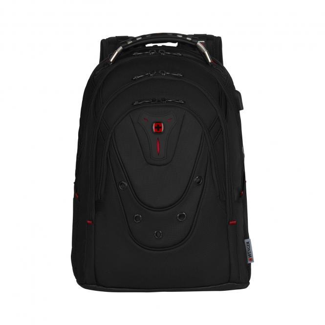 Ballistic Deluxe Laptop-Rucksack 17 Zoll schwarz