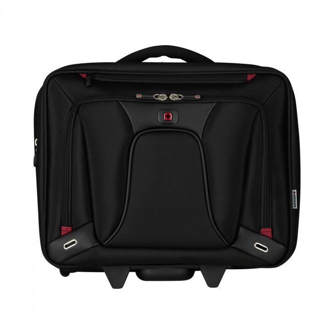 Laptop-Trolley 16 Zoll, erweiterbar schwarz