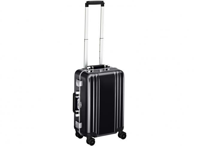 Carry on 4 Wheel Spinner Travel Case black