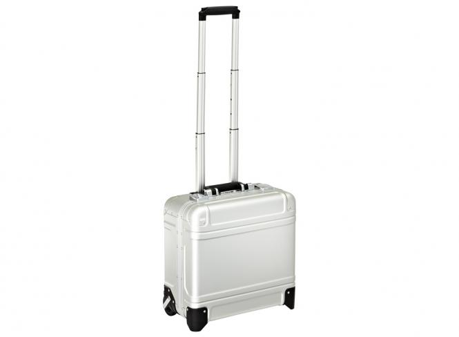 Wheeled Business Case 17 Zoll silver