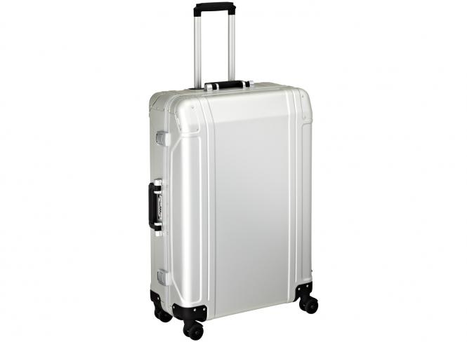 4 Wheel Spinner Travel Case 28 Zoll Silver