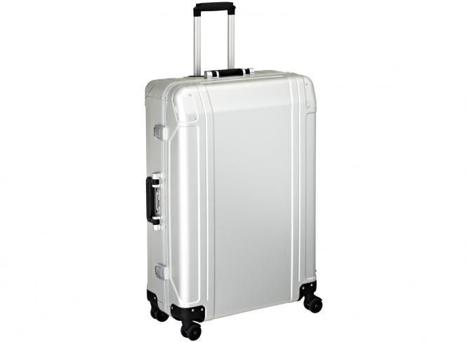 4 Wheel Spinner Travel Case 30 Zoll Silver