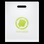 "Coocazoo Heftbox ""FolderHolder"", mit Tragegriff Weiß/Transparent"