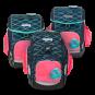 ergobag Schulzubehör Seitentaschen Zip-Set, 3-tlg. ab 2020 Pink