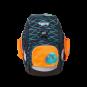ergobag Schulzubehör Seitentaschen Zip-Set, 3-tlg. ab 2020 Orange