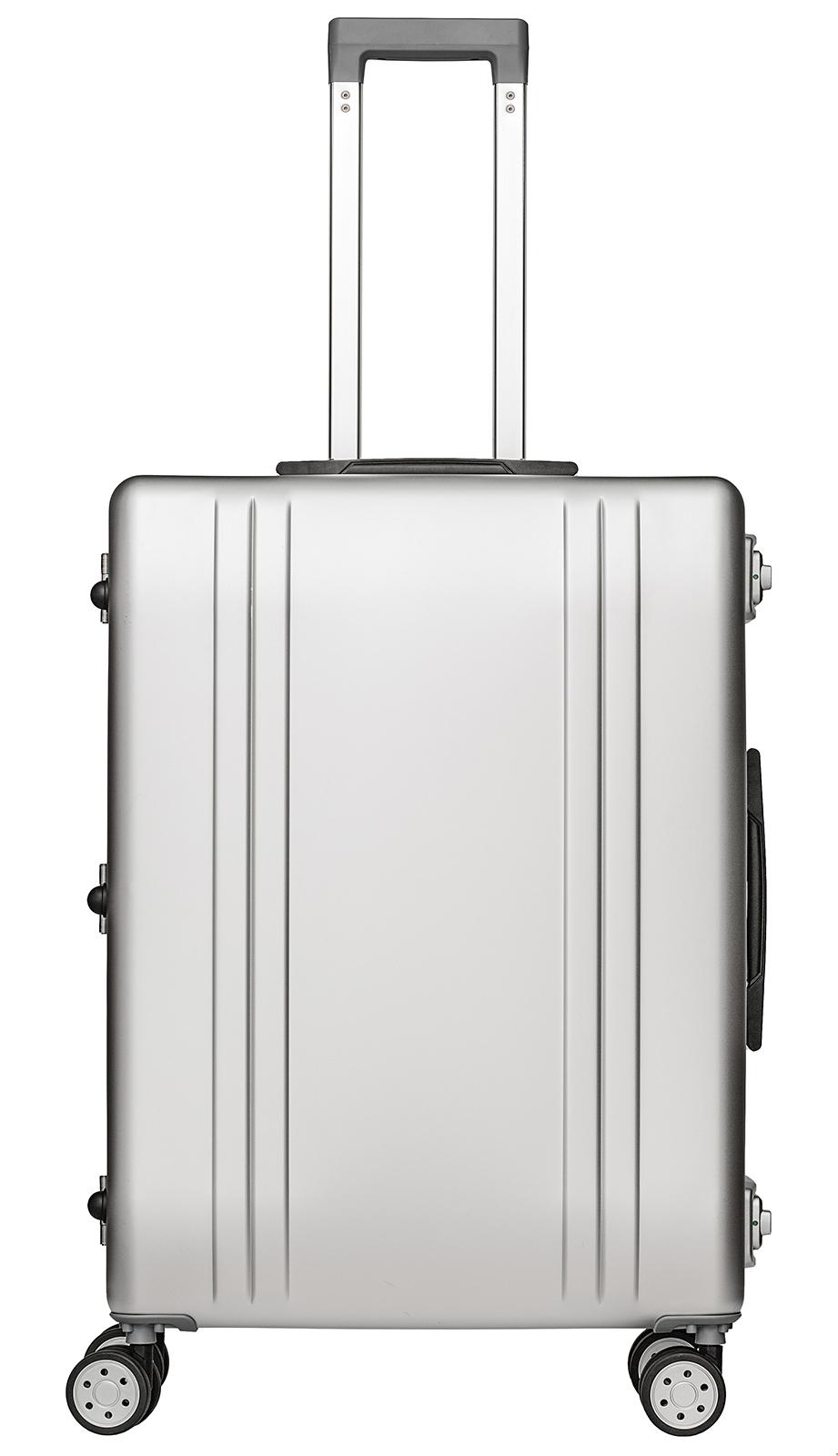 packenger aluminium luxury traveller alu reisekoffer 68l. Black Bedroom Furniture Sets. Home Design Ideas