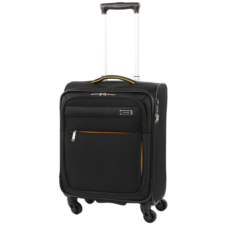 travelite style trolley s 4 rollen schwarz jetzt online. Black Bedroom Furniture Sets. Home Design Ideas