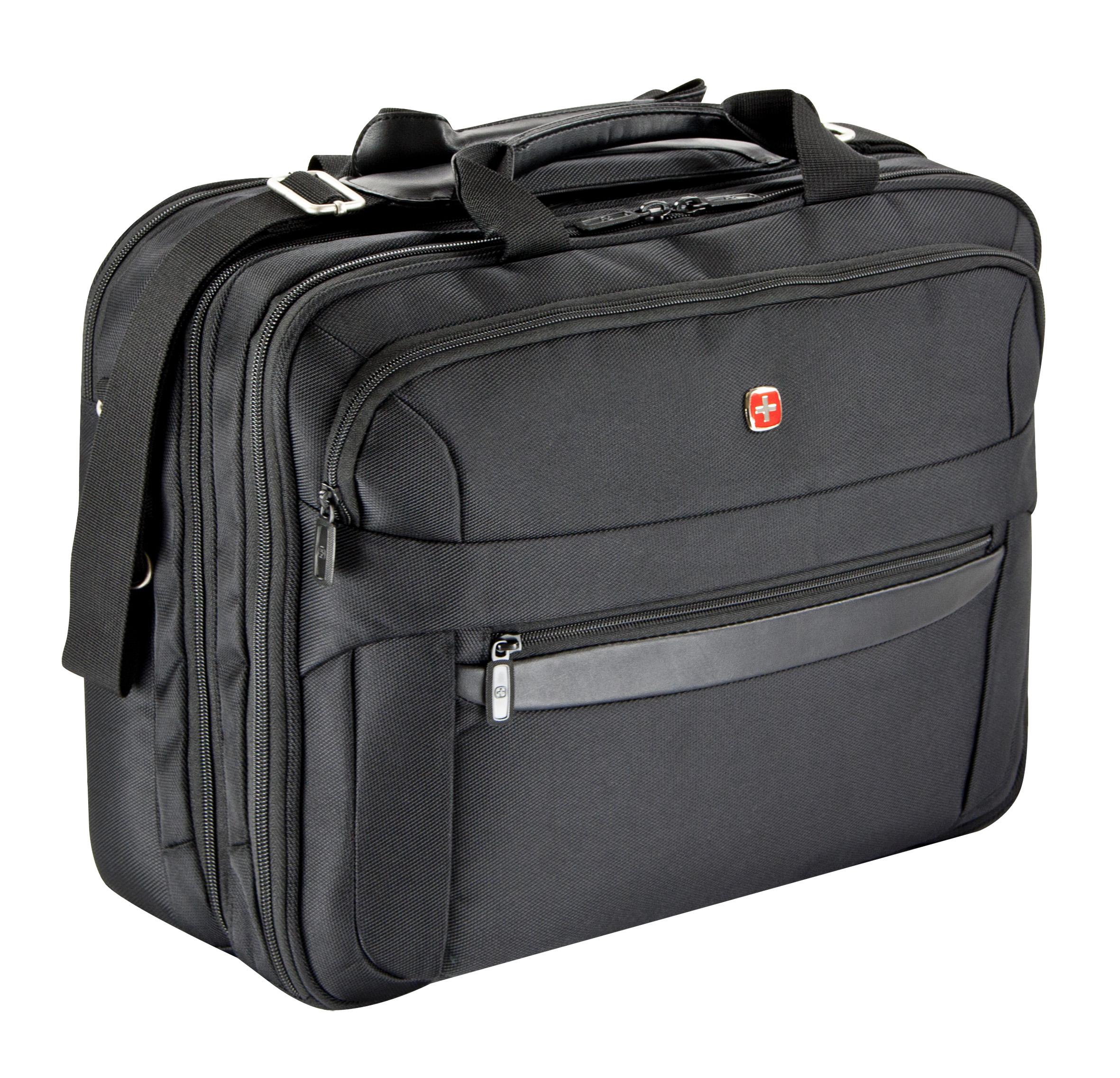 wenger business basic businesstasche 3 f cher mit laptoptasche 17 zoll jetzt auf kaufen. Black Bedroom Furniture Sets. Home Design Ideas