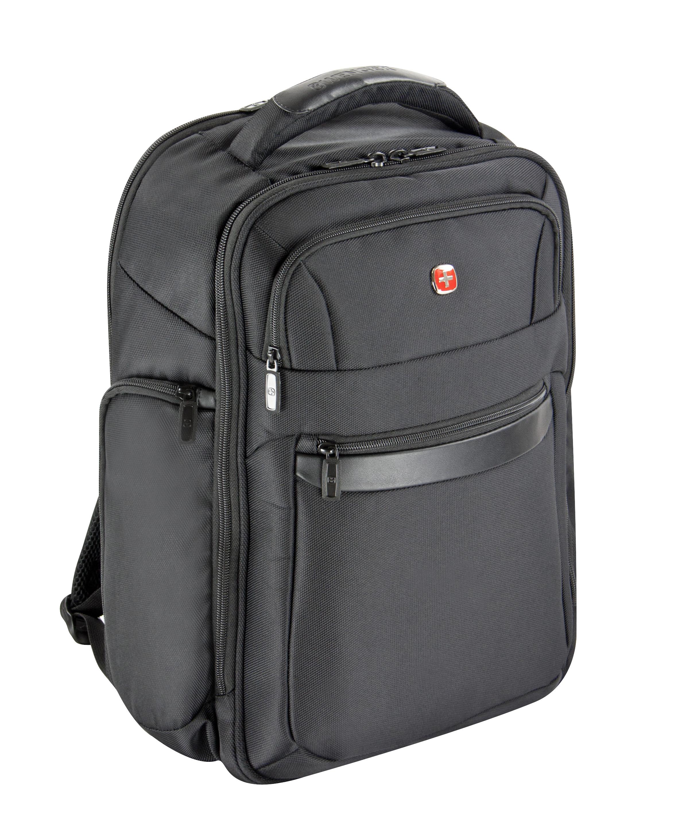 wenger business basic rucksack mit laptopfach 17 jetzt online kaufen bei. Black Bedroom Furniture Sets. Home Design Ideas