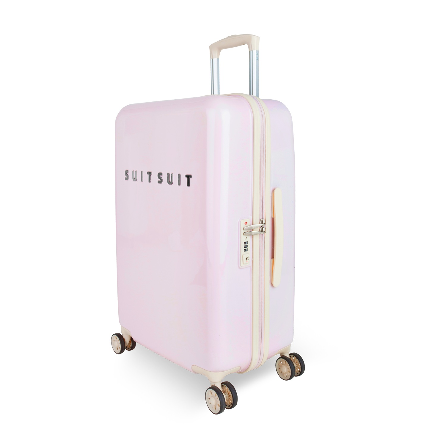 suitsuit fabulous fifties trolley 67 cm spinner pink dust jetzt online kaufen bei. Black Bedroom Furniture Sets. Home Design Ideas