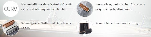 Vorteile des Samsonite Lite Cube DLX